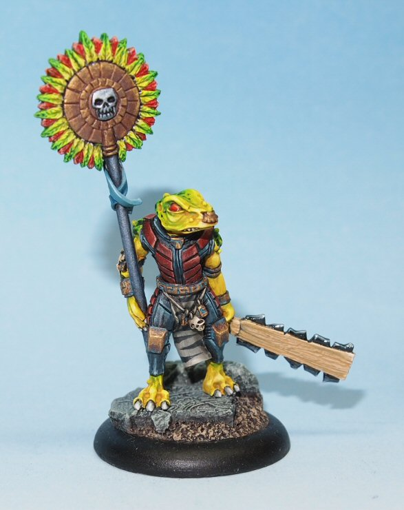 Amoxtli - Eru-Kin Fantasy Command Group Standard Bearer