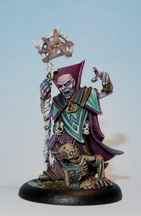 undead necromancer miniature