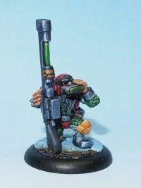 scifi dwarf miniature - big john