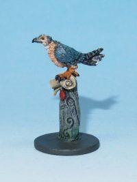Bird of prey miniature