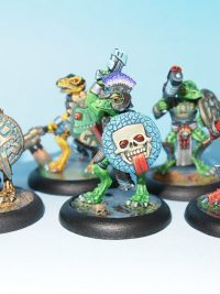 Eru Kin lizard men hand gun unit