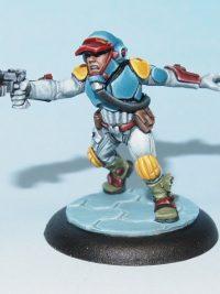 scifi miniature - Mercenary