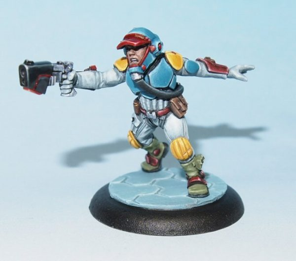 scifi miniature - Mercenary
