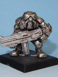 Scifi Dwarf Miniature - Gorman