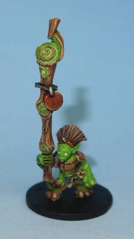 Grootling model with magic staff