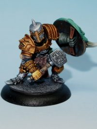 chaos warrior with hammer - Harry the hammer