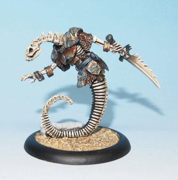 skeletal rattlesnake man