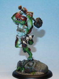 Krug Troglodyte Berserker With Totem Axe.