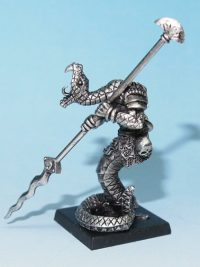 Lasharr snake warrior miniature