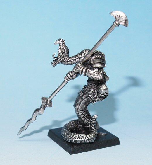 Lasharr snake warrior miniature