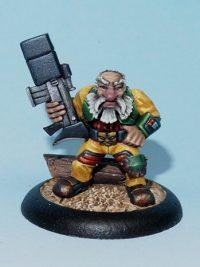 Scifi Dwarf Colonist Model - Nils