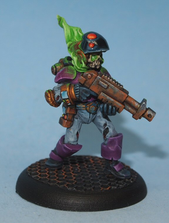 flaming space zombies