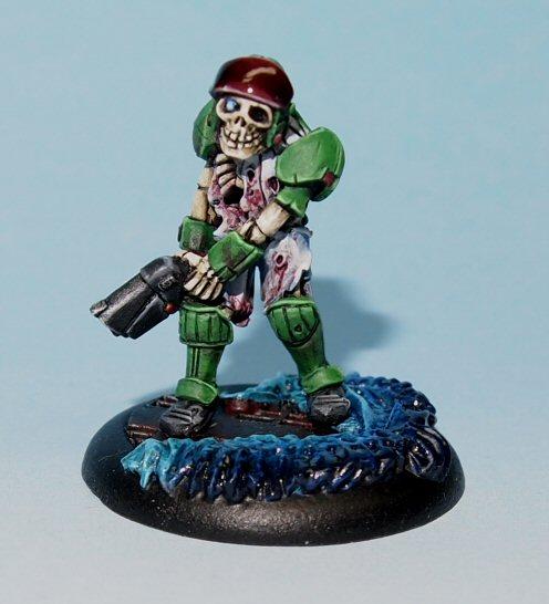 undedead scifi skeleton merc
