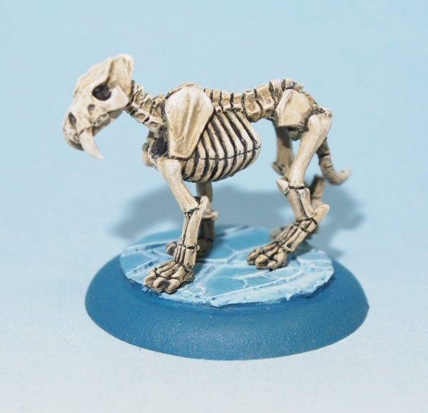 undead wolf figure