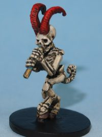 skeletal satyr miniature