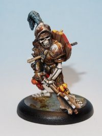 Sir Basil Rathbone - Undead Command Leader Miniature