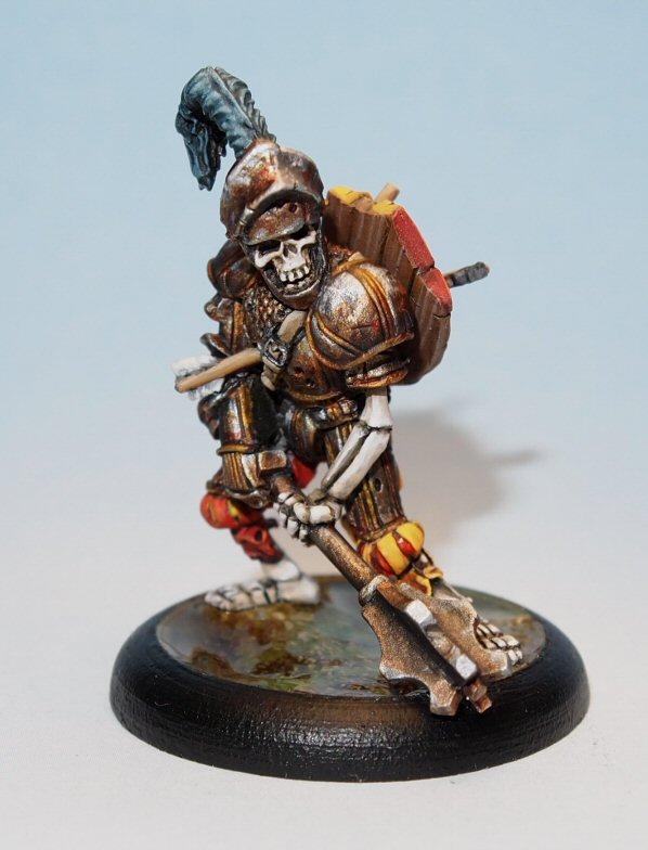 Sir Basil Rathbone - Undead Command Leader Miniature