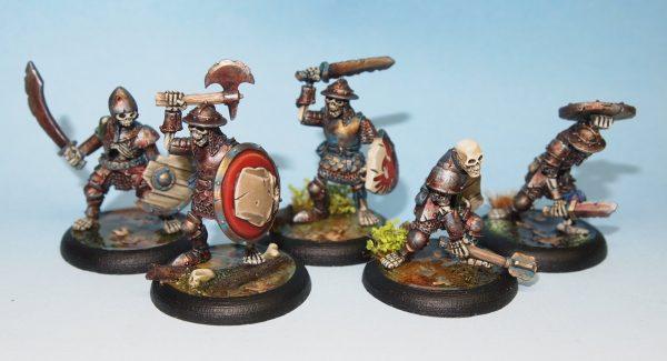 undead skeleton troops