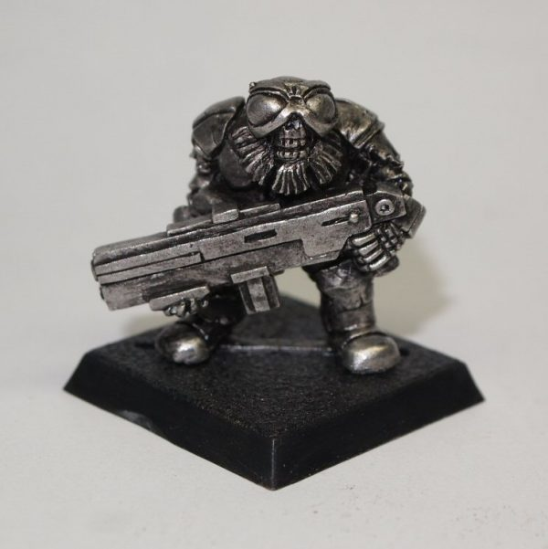 undead space dwarf with bolter