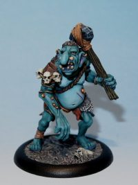 oldhammer troll model - snot lugg