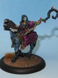 undead mounted skeleton leader
