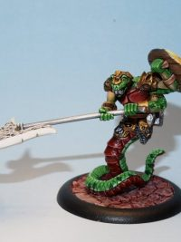 Sythpharius snake warrior miniature