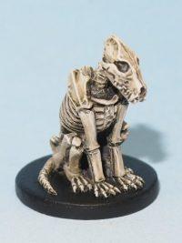 Skeletal Wolf model