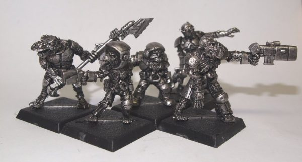 zombie scifi warriors