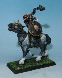 Chaos Warrior mounted
